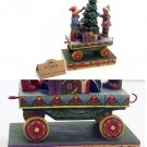 JIM SHORE Stone Resin Jim Shore Children Christmas Train - 20-4011074
