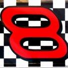 LP-046 Dale Earnhardt, Jr Nascar #8 Flag License Plate