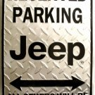 LGP-019 12 X 18 Jeep Reserved Parking Sign