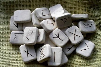 Ceramic Rune Set