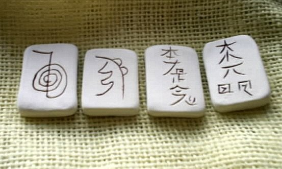 Ceramic Reiki Stone Set