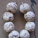 Eight Spaghetti Beads-Set