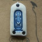 Scarab Cartouche Dangle Pendant
