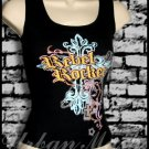 Juniors REBEL ROCKER Tank Top - size medium - TMBK0017