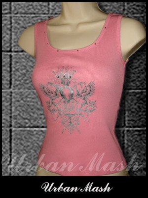 CORONA Studded Tank Top - size large - TLPK0013