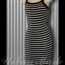 Sans Souci Sexy Tank Style Knit Summer Dress - size large - DLBKW0001