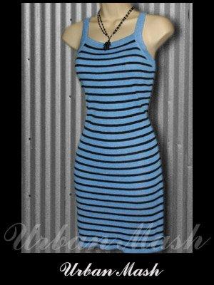 Sans Souci Sexy Tank Style Knit Summer Dress - size small - DSBBK0001