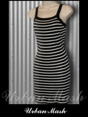 Sans Souci Sexy Tank Style Knit Summer Dress - size medium - DMBKW0001