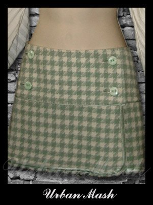 Abercrombie & Fitch Silk Lined Wrap Around Mini Skirt - size 6 - S6SG0002