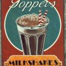 Milkshake Plaque Fifties Diner Style Sign Plaque