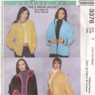 McCALL'S 3376 Women's Classic Fit Jacket SX - Sm - Med