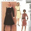 McCall's Pattern 3761 Misses petite dresses Size 4 - 10