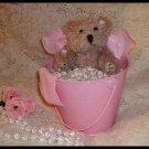 Shabby Victorian Fairy Bear Handcrafted OOAK