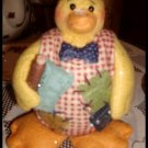 Country Duck Doll Figure Swimming Coynes & Company