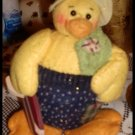 Country Surfer Duck Doll Figure Coynes & Company
