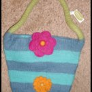 Purse Floral Design by Midwest Seasons of Cannon Falls Warm Fuzzy New Zealand Wood