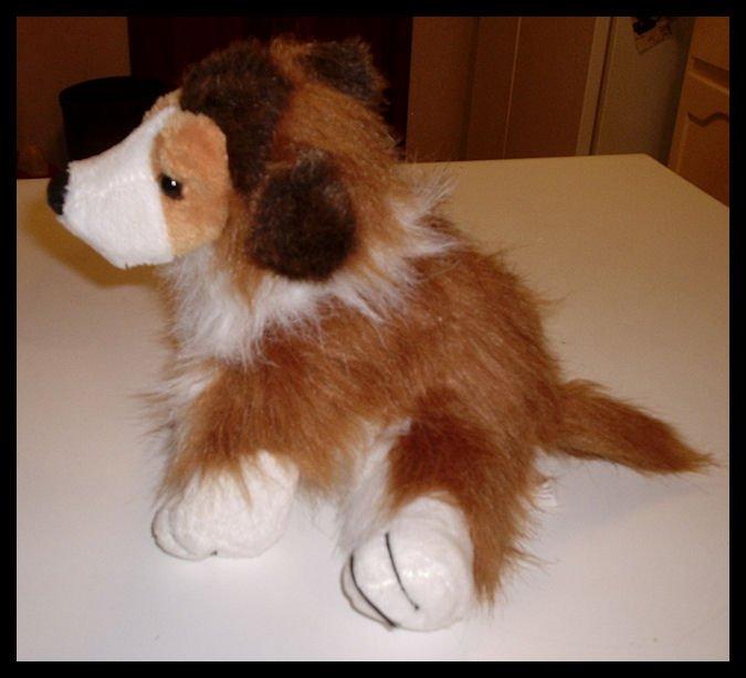 Webkinz Ganz Collie Dog Plush HM149