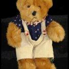 "Russ Bear Franklin Americana Teddy 11"""
