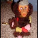 Vintage Antique Toy Monkey Japan Jestia Leash
