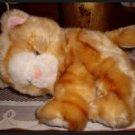 Plush Tabby Orange Cat by Nova