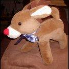 Qaulity Company Rudolph Reindeer Plush 1991 Animal Fair