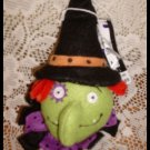 Witch Ornament Plush by Celebrate It