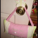 Sugar And Spice Shabby Door Pillow Chic Room Decor