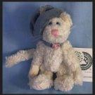 Boyds Bears & Friends Claudine de la Plumtete Feather Plume Hat and Necklace Plush Retired