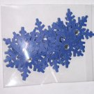 Alpine Snowflakes – Blue blinged