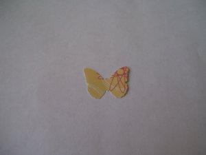 Butterflies � Yellow Spring design