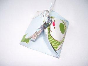 LauLau boxes � Small - Let It Snow print