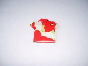 Origami Outfits � Chinese Mandarin Shirt - Flowered