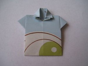 Origami Outfits � Chinese Mandarin Shirt - Let It Snow