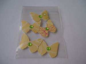 Butterflies � Blinged with backing