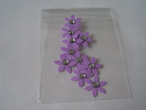 Daisy 6 � Purple Blinged