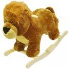 HAPPY TRAILS™ Lion Plush Rocking Animal
