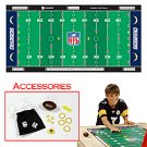 NFL® Licensed Finger Football™ Game Mat - Chargers