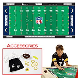NFL® Licensed Finger Football� Game Mat - Chargers