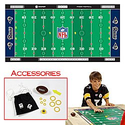 NFL® Licensed Finger Football� Game Mat - Rams