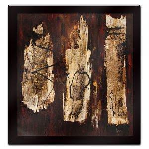Segni I by Ester Negretti Mounted Laminated Wall Art 34 x 34
