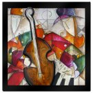 Jam Session II by Eric Waugh - 3-D Laminated Art 41 x 41
