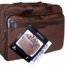 Samsonite Brown Canvas Portfolio Laptop Case