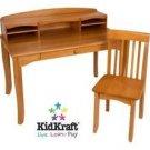 KidKraft Avalon Desk with Hutch - Honey