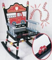 Levels of Discovery Fire Engine Rocker