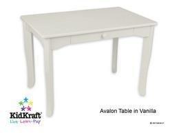 KidKraft Avalon Table- Vanilla