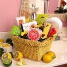 Citrus Spa Gift Basket