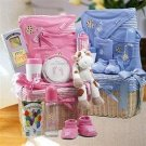 Got Milk Baby Girl- Medium Gift Basket