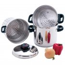 Chef's Secret® 4pc Surgical Stainless Steel Multi-Cooker