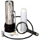 Countertop Stainless Steel Water Filter MODEL 3000 WATER FILTER