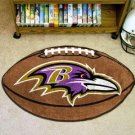 Fan Mats Baltimore Ravens Football Rug